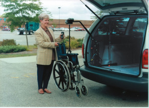 Wheelchair lift for Cars