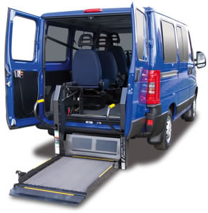 Wheelchair lift for Vans